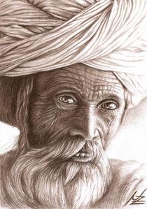 Rajasthan Man by Nicole Zeug