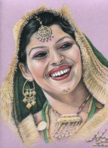 Indische Braut - Indian Bride by Nicole Zeug
