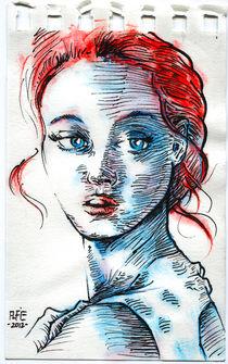 French young lady von Alfredo  Saavedra