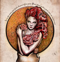 La Rose - The Rose von Alfredo  Saavedra