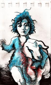 Boy and his lamb von Alfredo  Saavedra