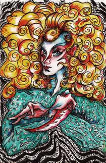 Demon Girl Blonde 2 von Alfredo  Saavedra