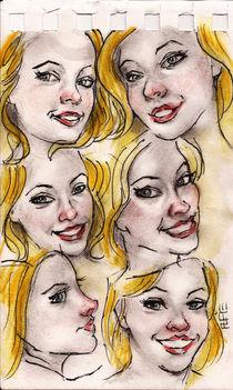 Mikaela Faces von Alfredo  Saavedra
