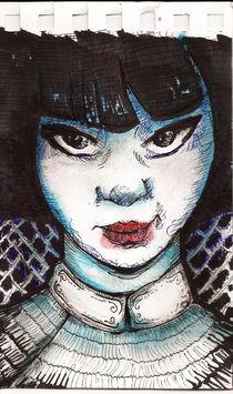 Asian Girl von Alfredo  Saavedra
