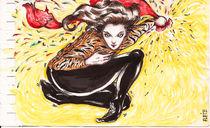 Jumping Tiger von Alfredo  Saavedra