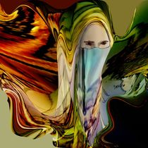 Veiled Beauty by Helmut Licht