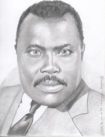 Marcus Garvey - Look for me in the whirlwind by Michel Kress
