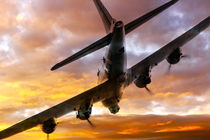 B17 Fire In The Sky by James Biggadike