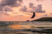 Kite Surfer von Jeremy Sage
