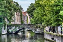 Meestraat Bridge in Bruges by Marc Garrido Clotet