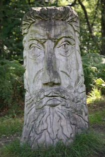 wood carving von mark severn