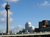 düsseldorf skyline von fotokunst66