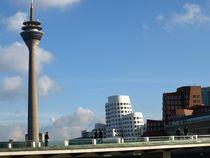 düsseldorf skyline by fotokunst66