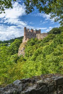 Schloss Oberstein 5 von Erhard Hess