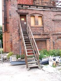Provisorische Treppe alte Kalkbrennerei von techdog