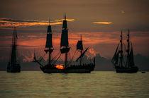 Sailors Dream - Sunset von Nolas Kasof