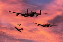 Bomber-and-escort-dawn-raid