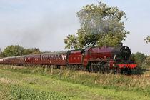 leander steam train von mark severn