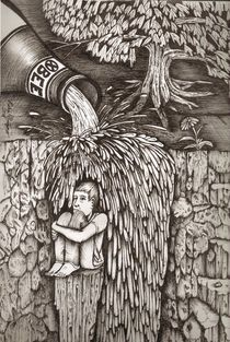 'Beer Falls' von Richie Montgomery