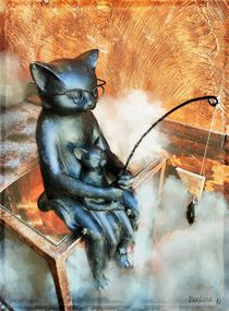 All cats love fish von barbara orenya
