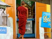 Buddhist monk von Bettina Breuer