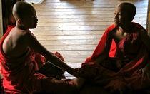 Buddhist friends by Bettina Breuer