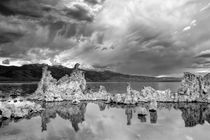 Reflected Storms at Mono Lake von Chris Frost