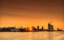 Hamburg sunrise by photoart-hartmann
