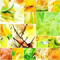Art Collage Frühling von Maria-Anna  Ziehr
