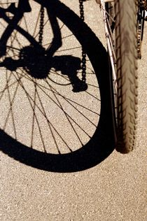 bike and shadow 5 - rad und schatten 5 by mateart