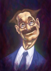 Groucho Marx by Estudio Tris