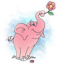 Pink Elephant by Estudio Tris