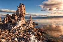 Tufas on Mono Lake von Kathleen Bishop