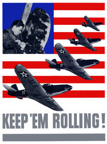 Planes -- Keep 'Em Rolling! von warishellstore