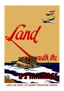 Land With The US Marines von warishellstore