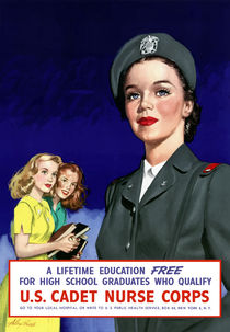 US Cadet Nurse Corps -- WWII by warishellstore