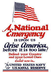 Arise America -- Enlist Now In The United States Navy by warishellstore