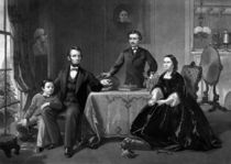 President Lincoln And His Family von warishellstore