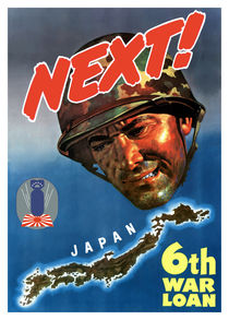 Next! 6th War Loan -- World War II von warishellstore