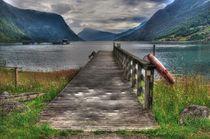Brücke - Norwegen von Sabine Hofmann