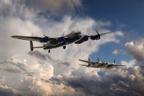 Lancaster and Mosquito Legends by James Biggadike