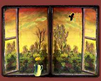 At the window von Vera Markgraf