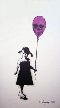 Balloon Girl von Bela Manson