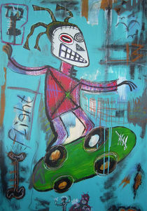Untitled (skater) by Bela Manson