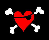 Pirate Heart / Pirat Herz by Bela Manson