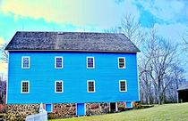 The Blue Mill  Historic Walnford Mill  by Rick Todaro