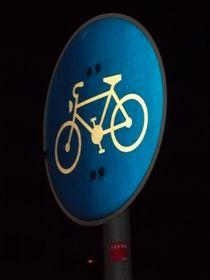 Radweg nachts von techdog
