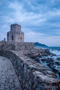 medieval castle view 2 by veilweb designs