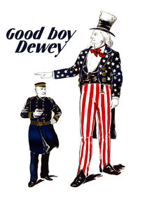 Good Boy Dewey -- Uncle Sam by warishellstore