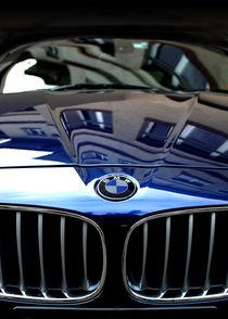 Blue BMW by Mark Malinowski